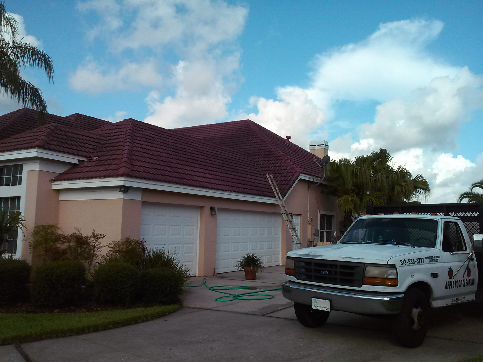 Tile Roof Cleaning ...